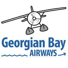 The logo for the Georgian Bay Airways.